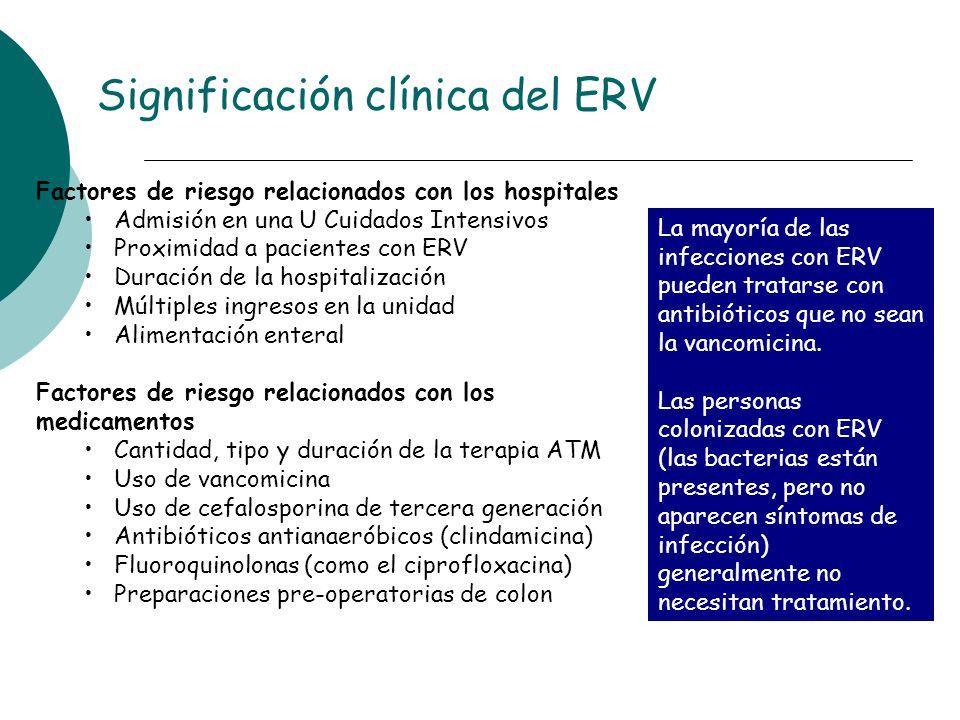 Significación clínica del ERV