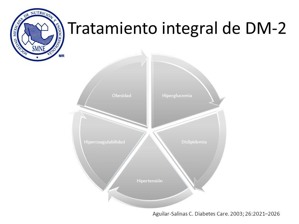 Tratamiento integral de DM-2