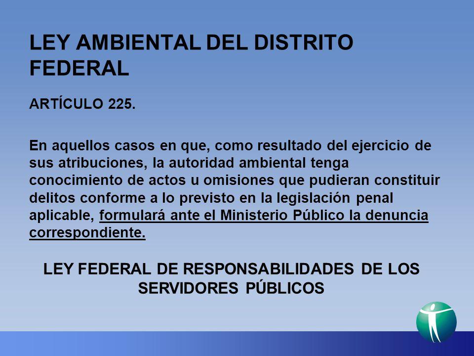 LEY AMBIENTAL DEL DISTRITO FEDERAL