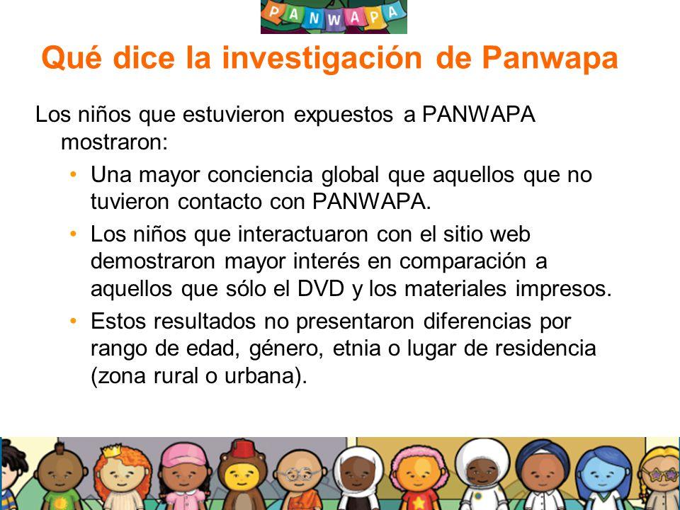 Qué dice la investigación de Panwapa
