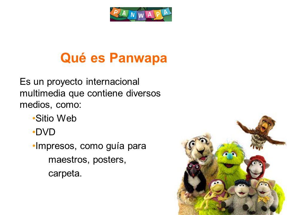Qué es Panwapa Es un proyecto internacional multimedia que contiene diversos medios, como: Sitio Web.