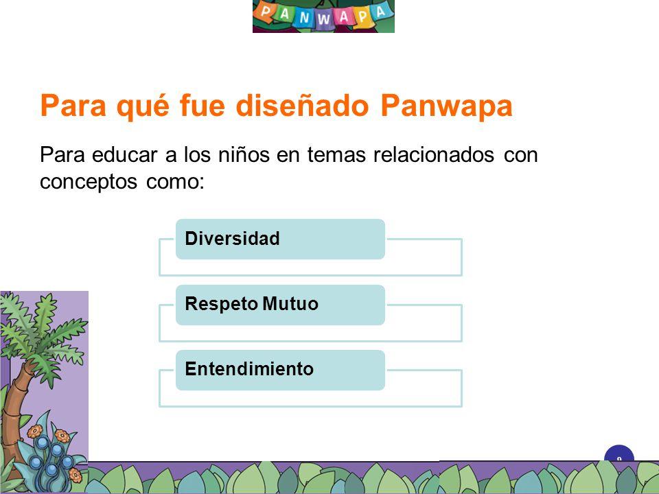 Para qué fue diseñado Panwapa