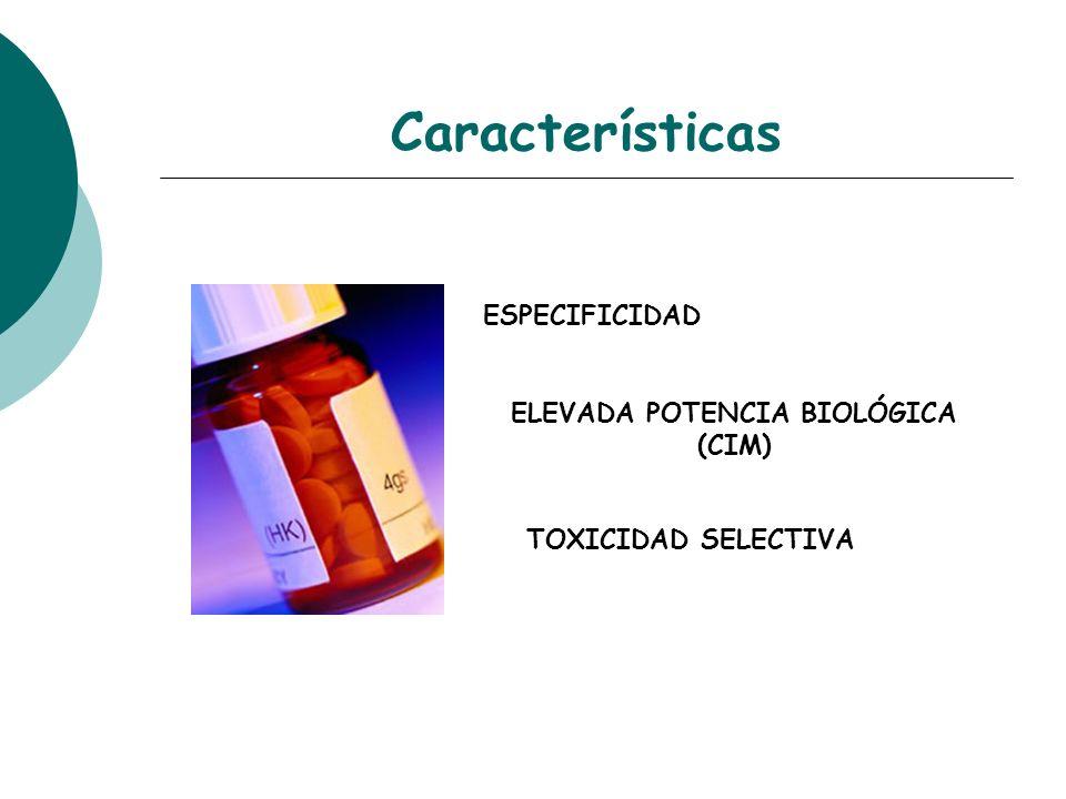 ELEVADA POTENCIA BIOLÓGICA