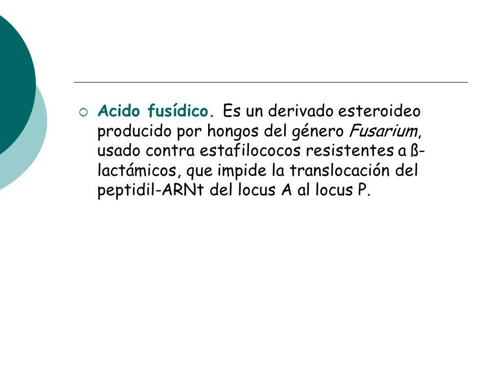 Acido fusídico.
