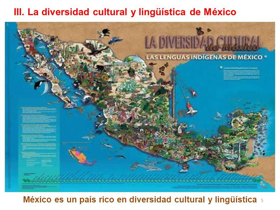 México es un país rico en diversidad cultural y lingüística