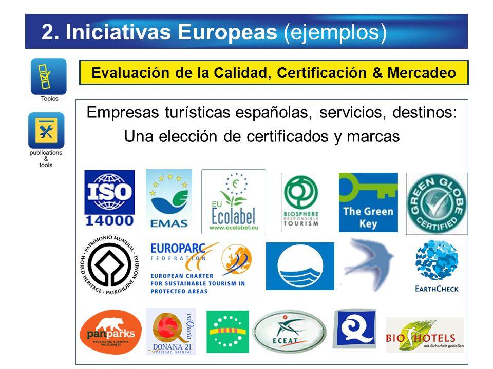 Evaluación de la Calidad, Certificación & Mercadeo