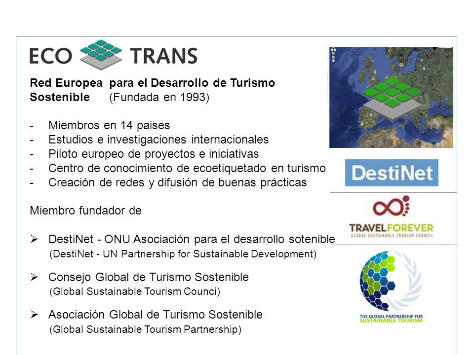 Red Europea para el Desarrollo de Turismo
