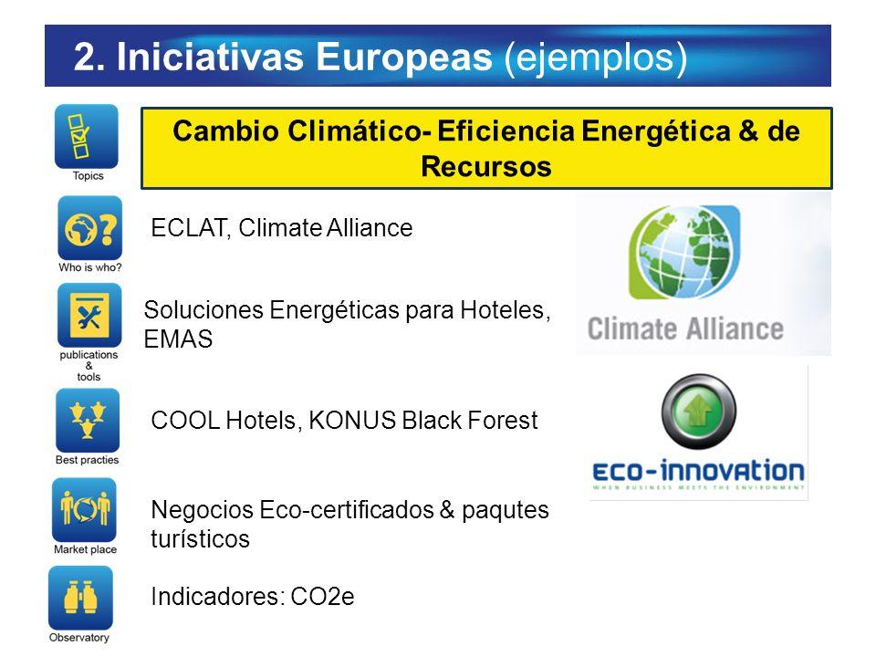 Cambio Climático- Eficiencia Energética & de Recursos