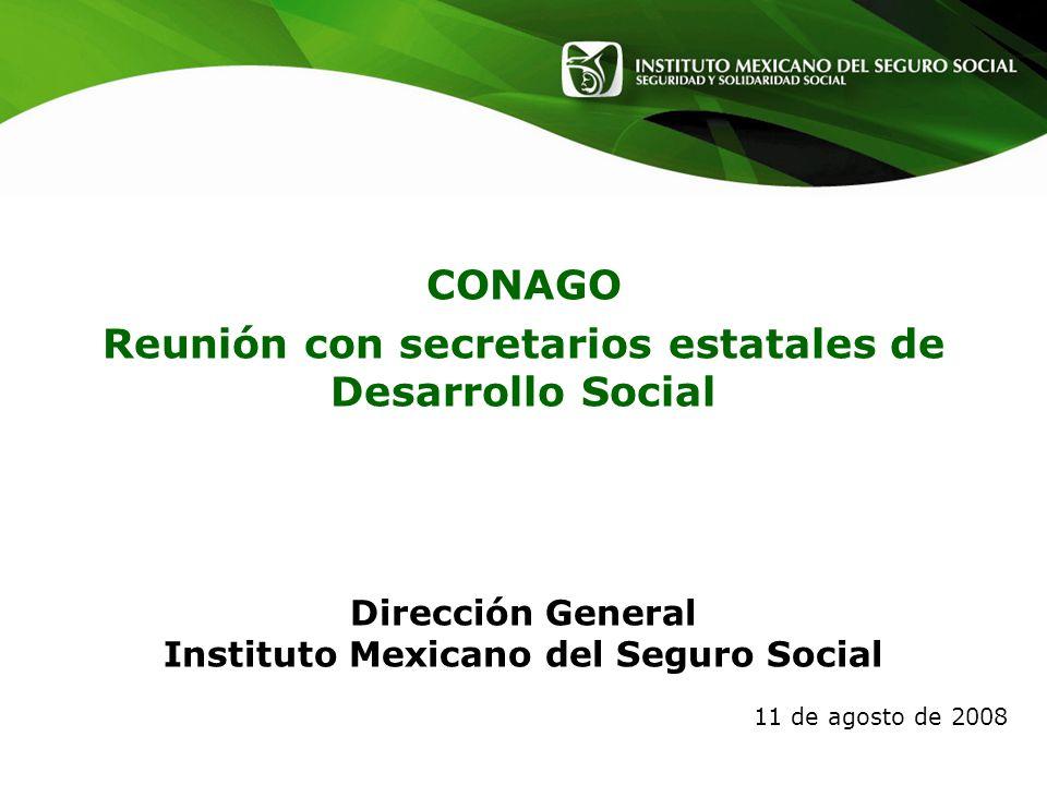 CONAGO Reunión con secretarios estatales de Desarrollo Social