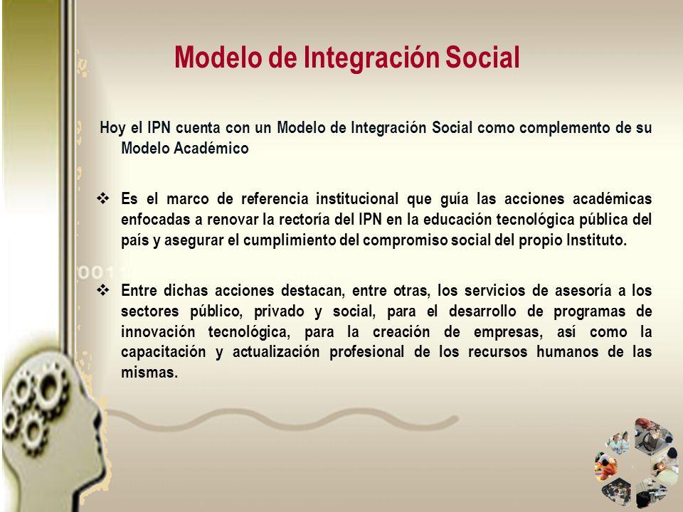 Modelo de Integración Social