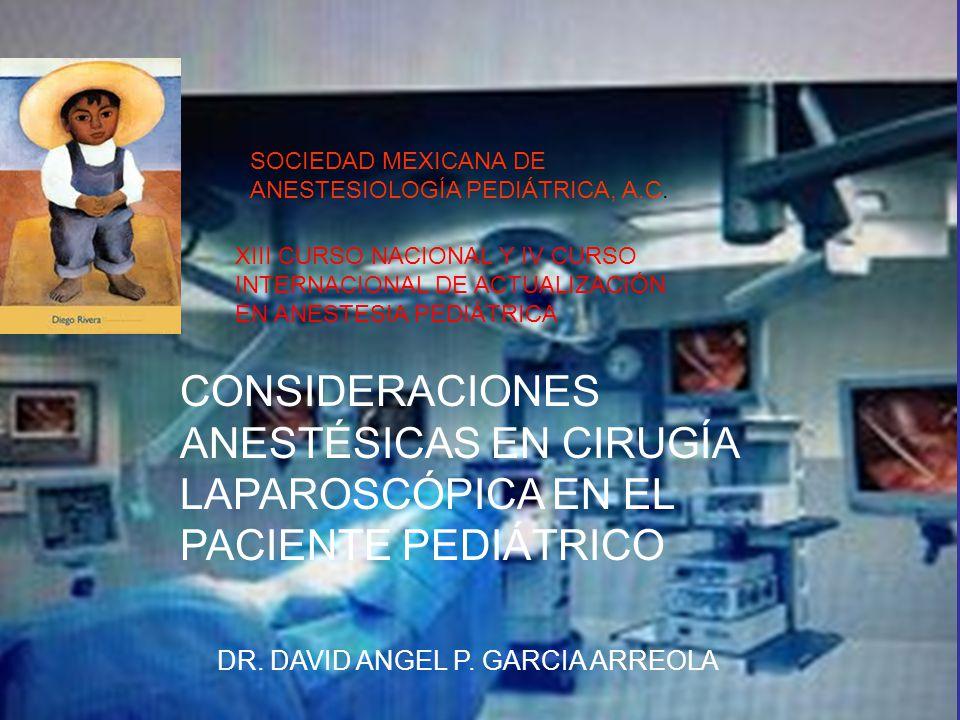SOCIEDAD MEXICANA DE ANESTESIOLOGÍA PEDIÁTRICA, A.C.