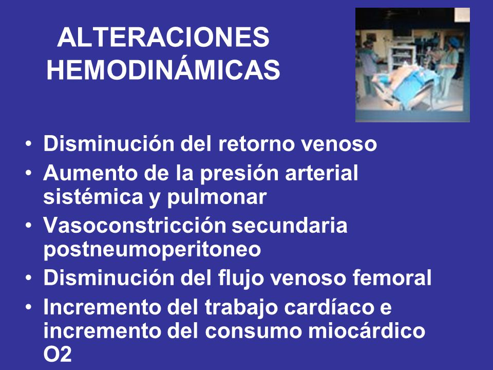 ALTERACIONES HEMODINÁMICAS