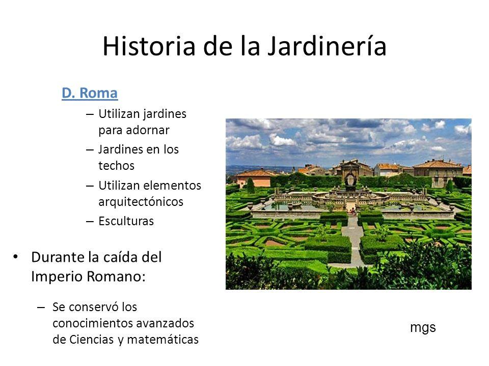 Organizaci n nacional ppt descargar for Historia de los jardines verticales
