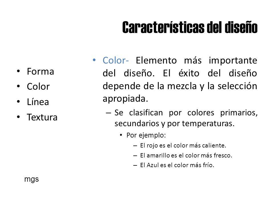 Características del diseño
