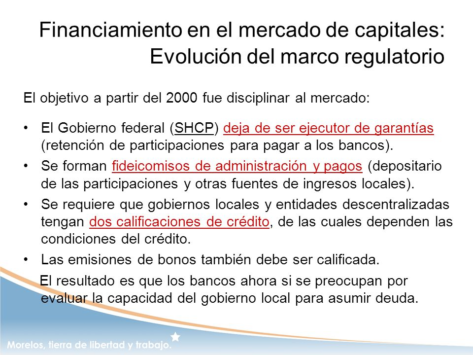 Financiamiento en el mercado de capitales: Evolución del marco regulatorio