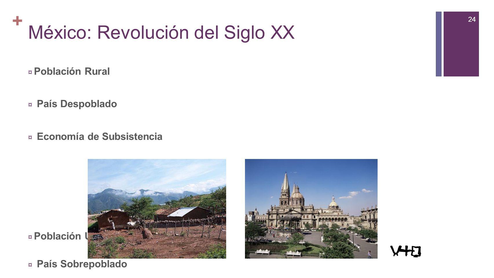 México: Revolución del Siglo XX