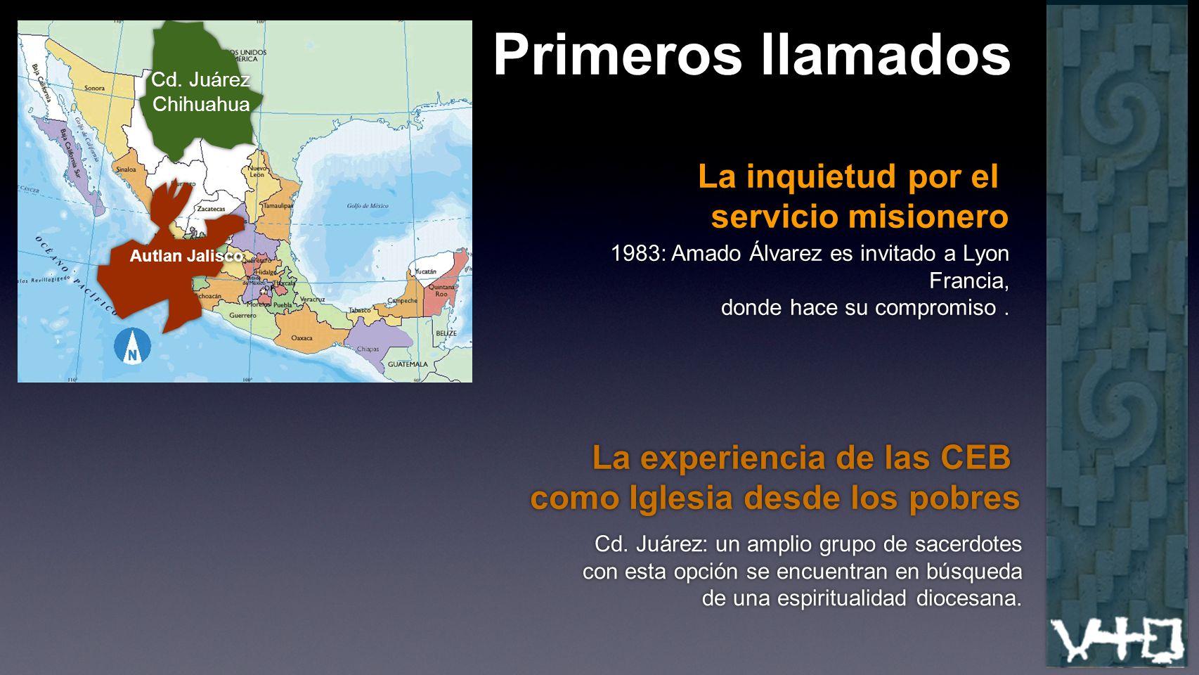Primeros llamados La inquietud por el servicio misionero