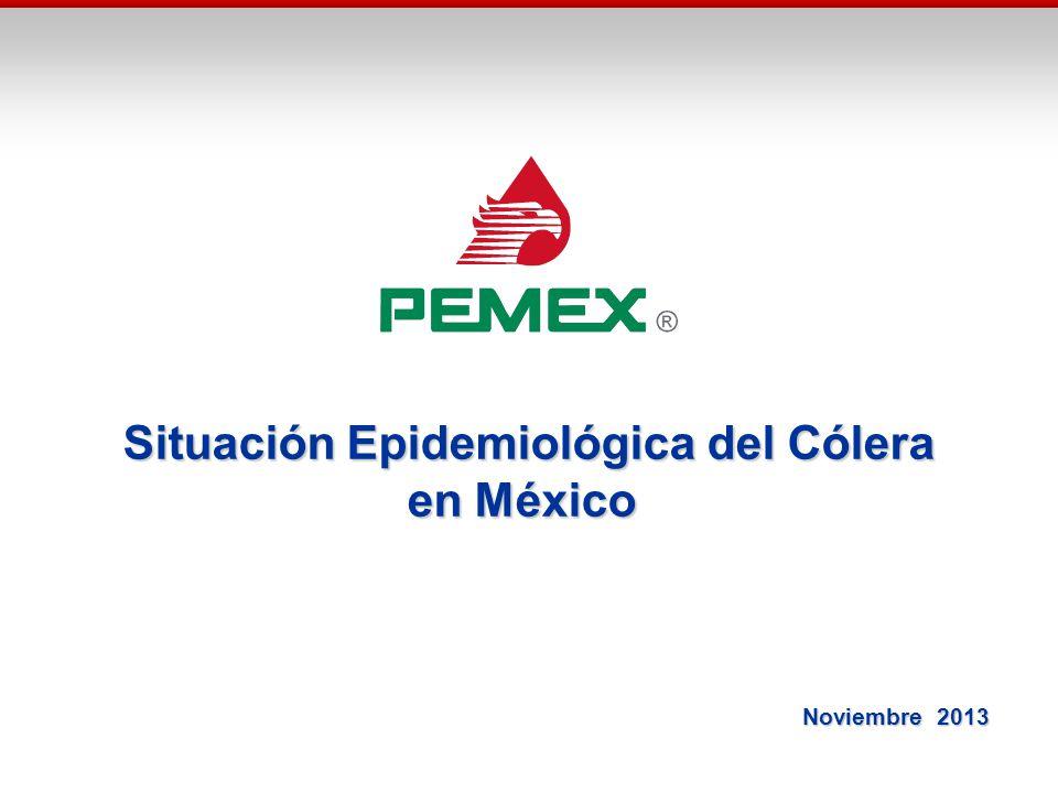 Situación Epidemiológica del Cólera en México