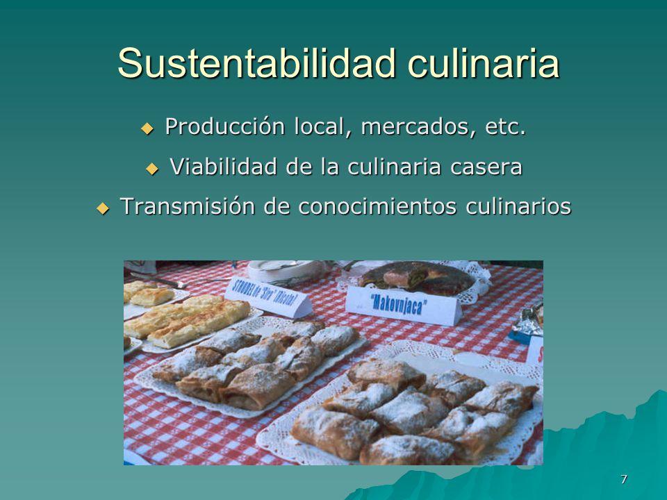 Sustentabilidad culinaria