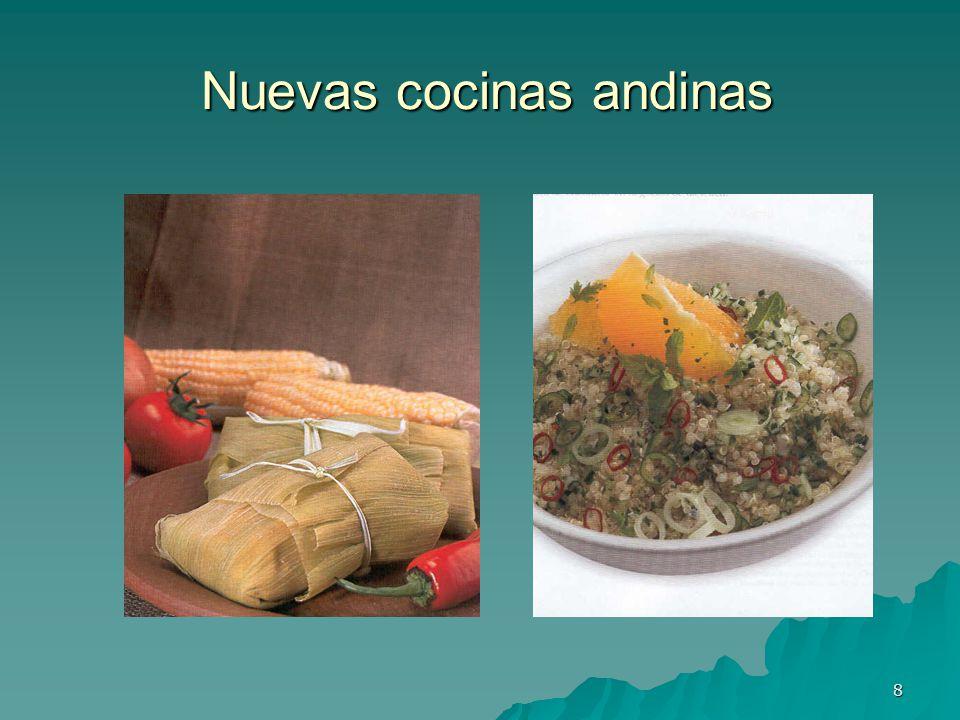 Nuevas cocinas andinas