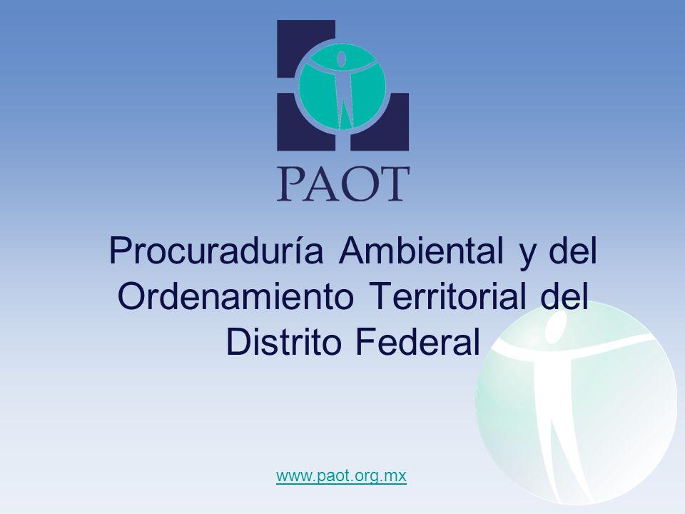 Procuraduría Ambiental y del Ordenamiento Territorial del Distrito Federal