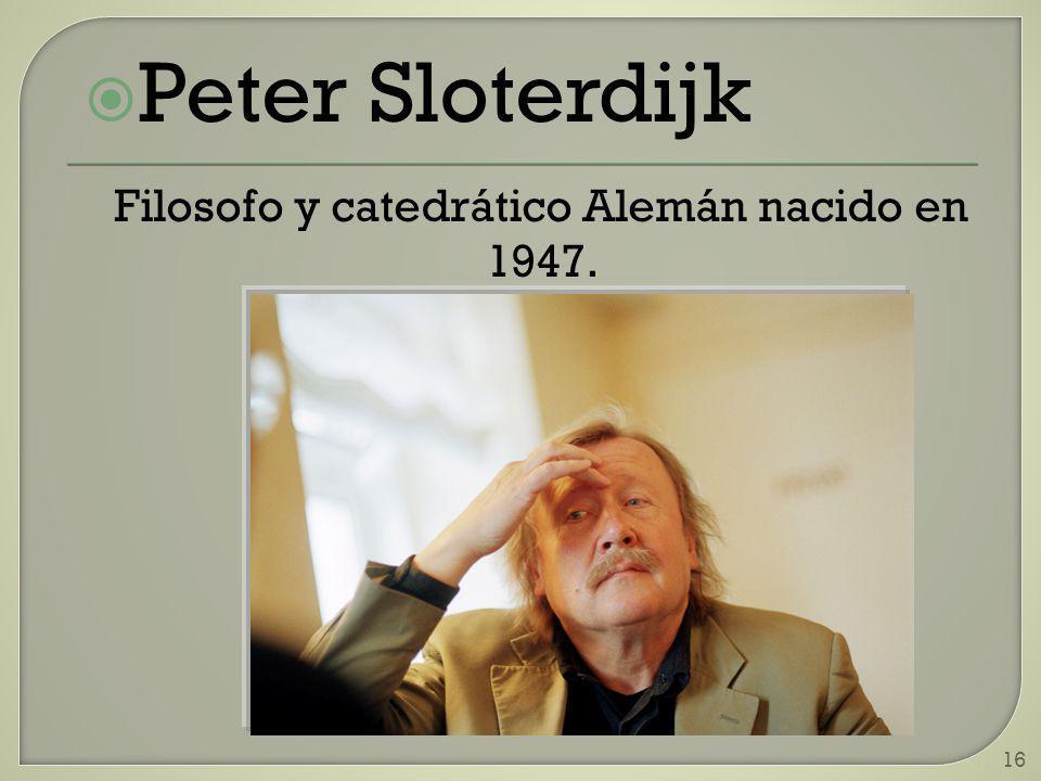 Filosofo y catedrático Alemán nacido en