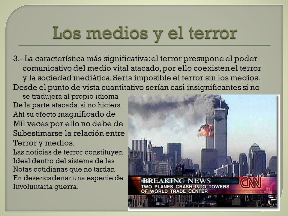 Los medios y el terror