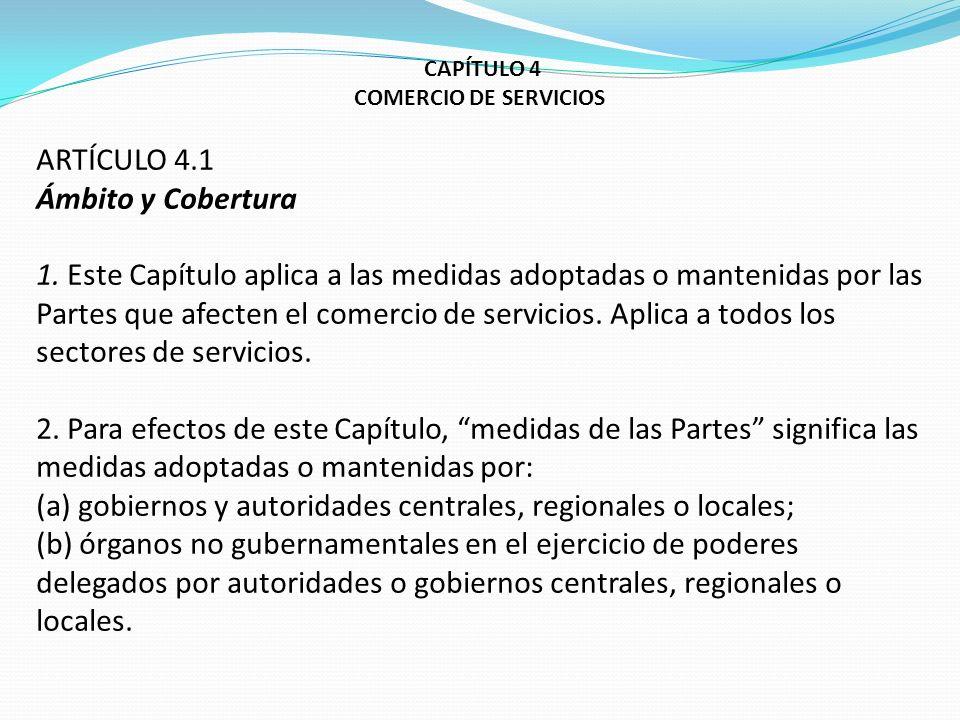 (a) gobiernos y autoridades centrales, regionales o locales;