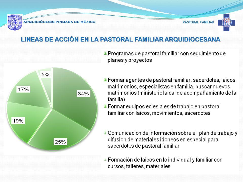 LINEAS DE ACCIÓN EN LA PASTORAL FAMILIAR ARQUIDIOCESANA
