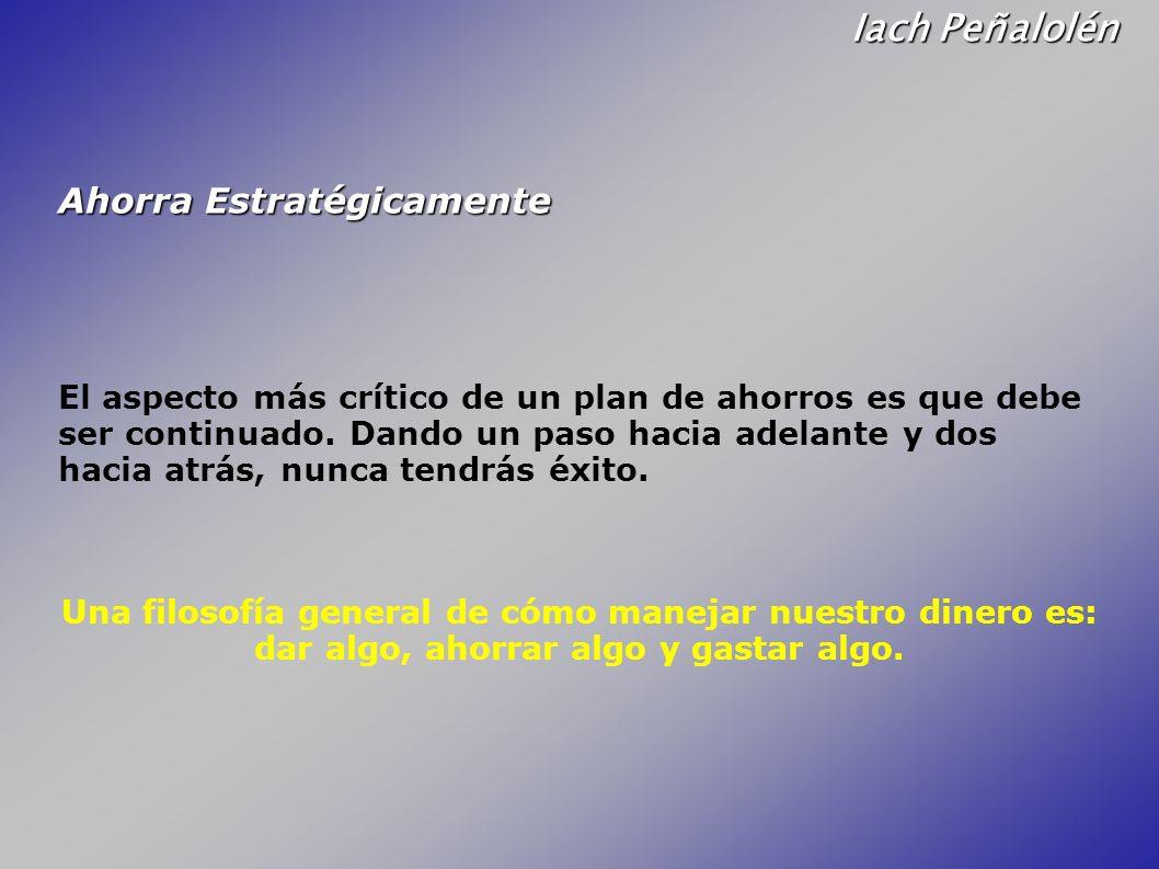 Iach Peñalolén Ahorra Estratégicamente
