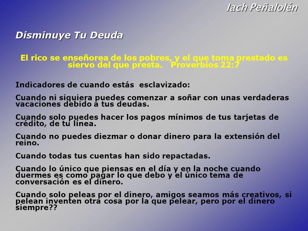 Iach Peñalolén Disminuye Tu Deuda