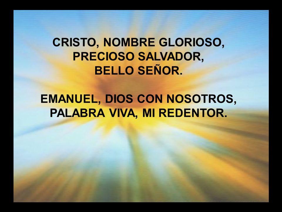 Cristo nombre glorioso