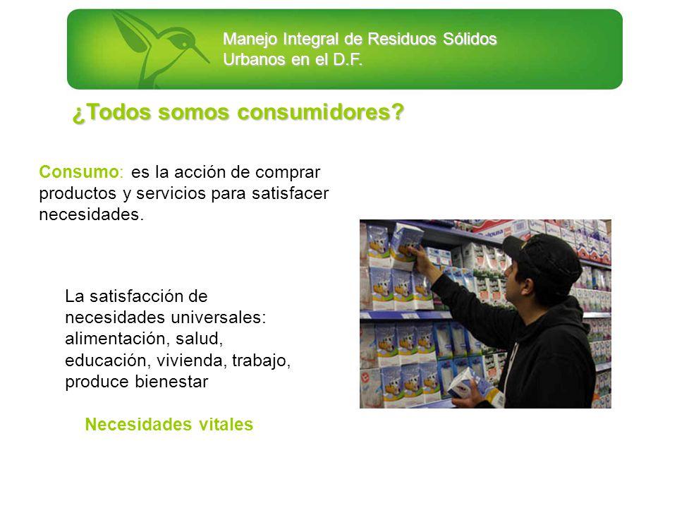 ¿Todos somos consumidores