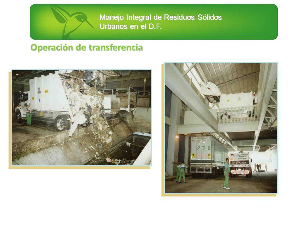 Operación de transferencia