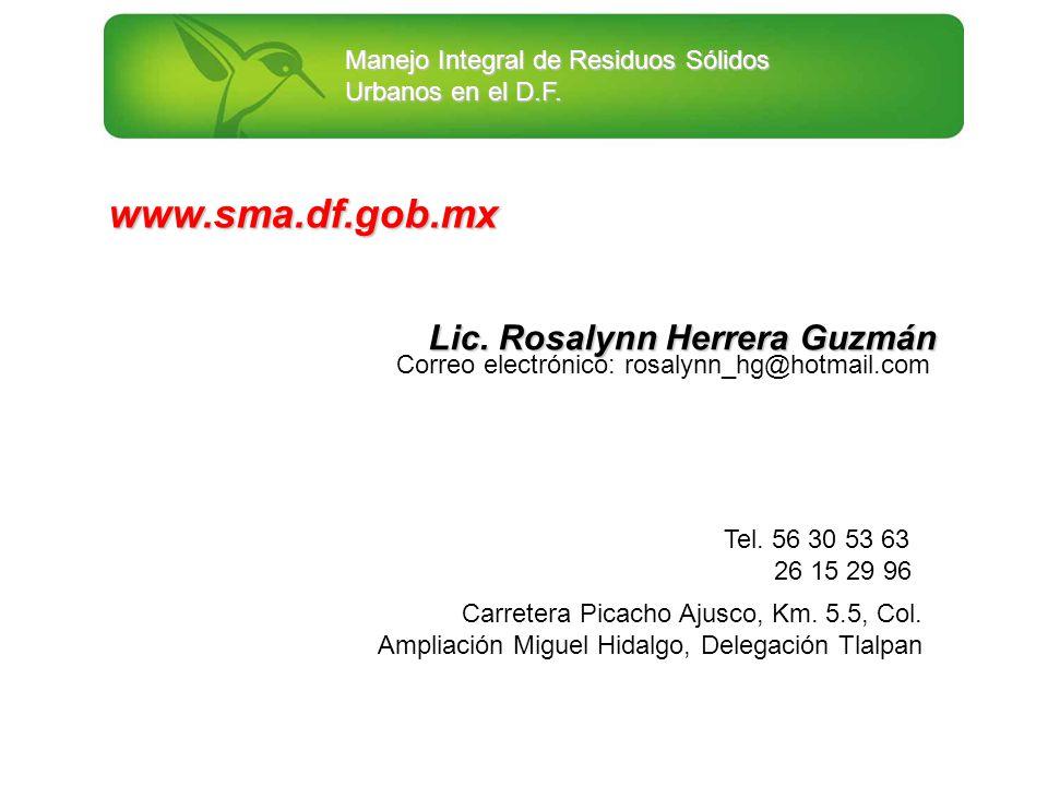 Lic. Rosalynn Herrera Guzmán