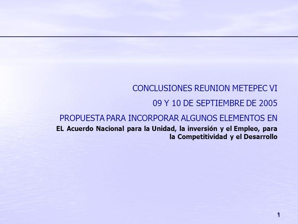 CONCLUSIONES REUNION METEPEC VI