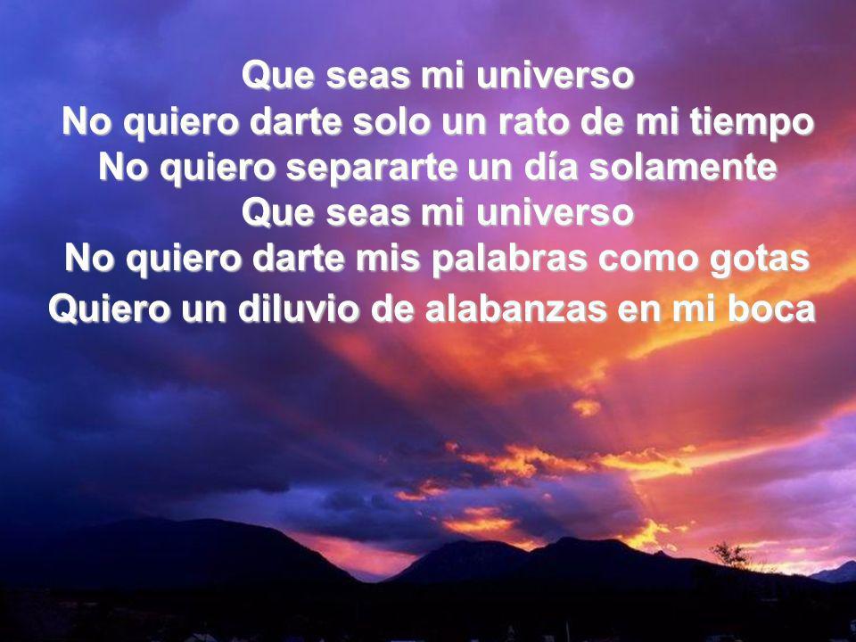 Que Seas Mi Universo I