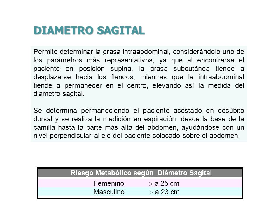 DIAMETRO SAGITAL