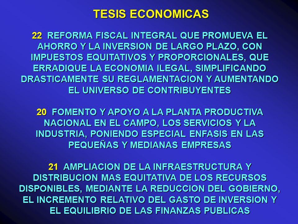 TESIS ECONOMICAS