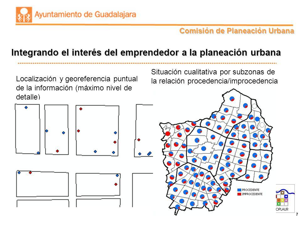 Integrando el interés del emprendedor a la planeación urbana