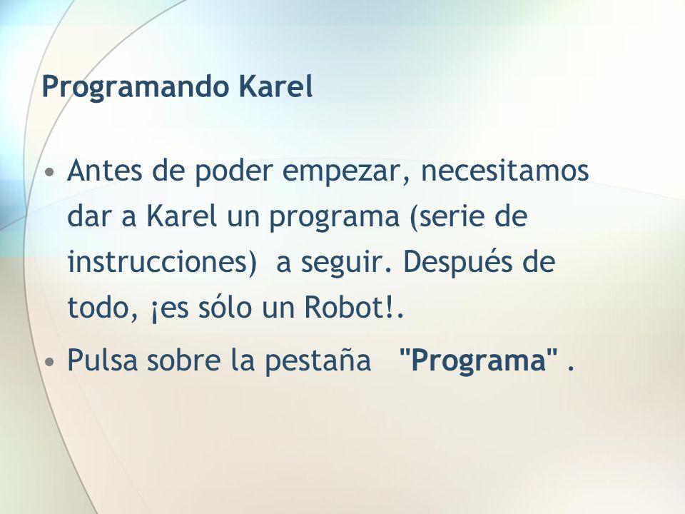 Programando Karel