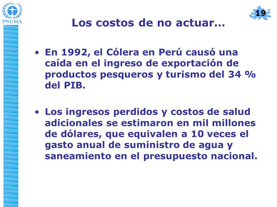 Los costos de no actuar…