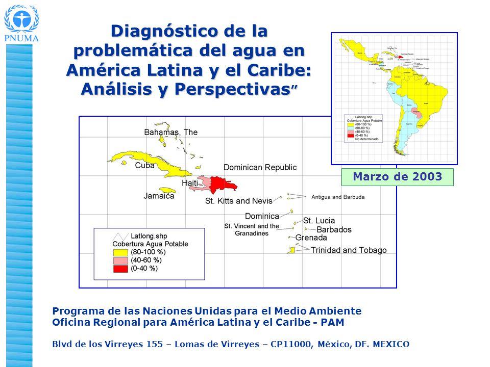 Diagnóstico de la problemática del agua en América Latina y el Caribe: Análisis y Perspectivas