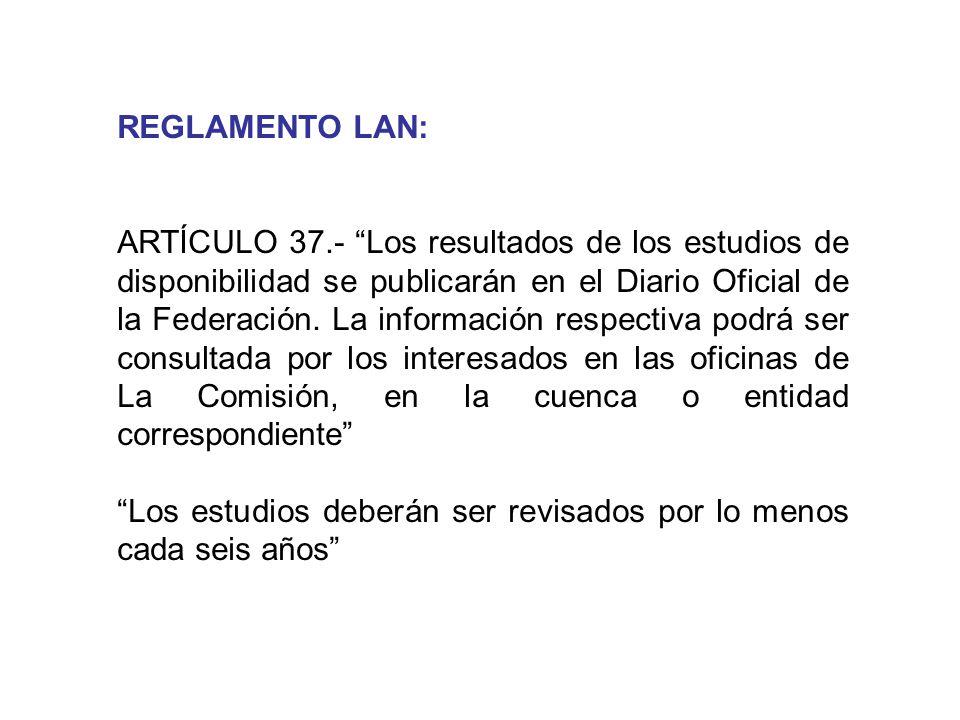 REGLAMENTO LAN: