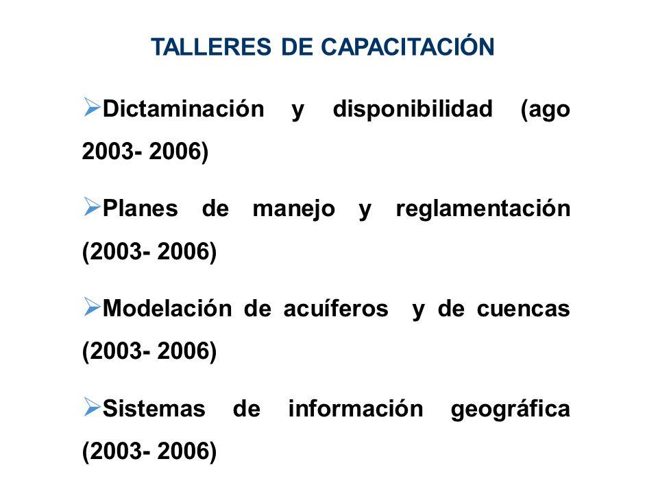 TALLERES DE CAPACITACIÓN