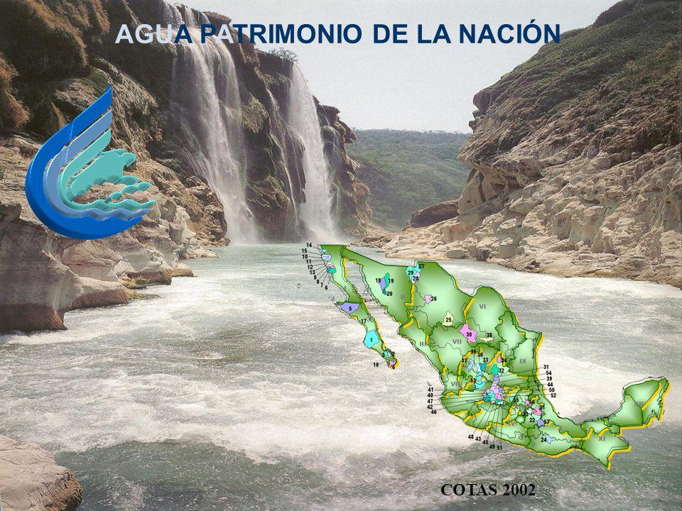 AGUA PATRIMONIO DE LA NACIÓN