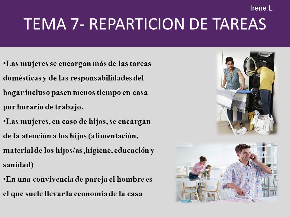 TEMA 7- REPARTICION DE TAREAS