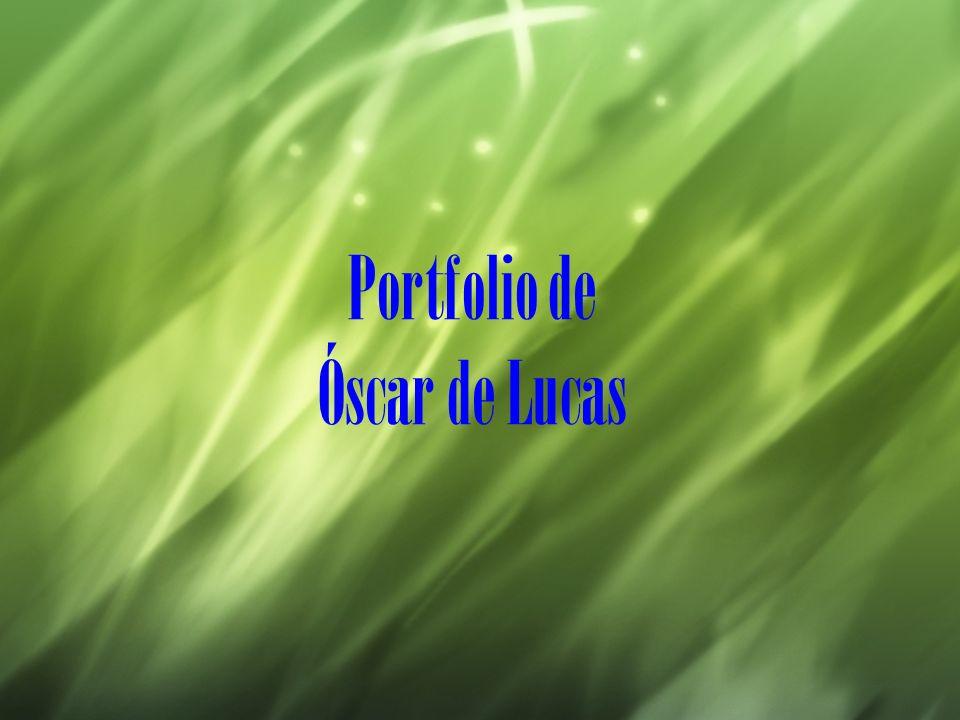 Portfolio de Óscar de Lucas