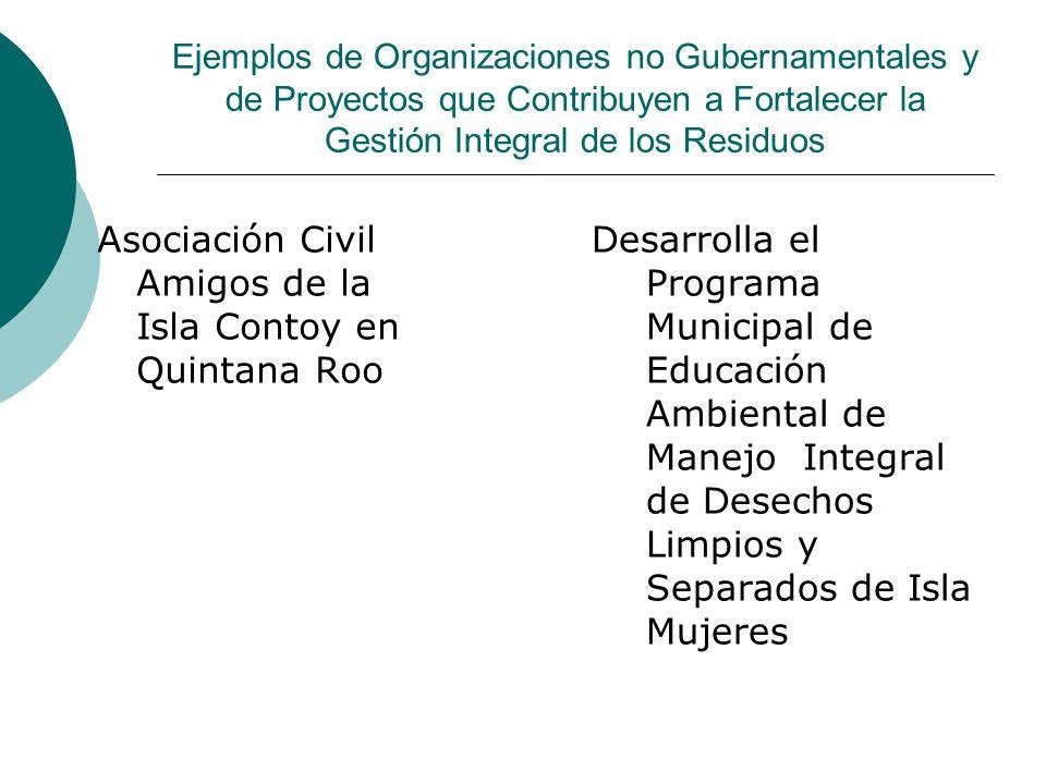 Asociación Civil Amigos de la Isla Contoy en Quintana Roo