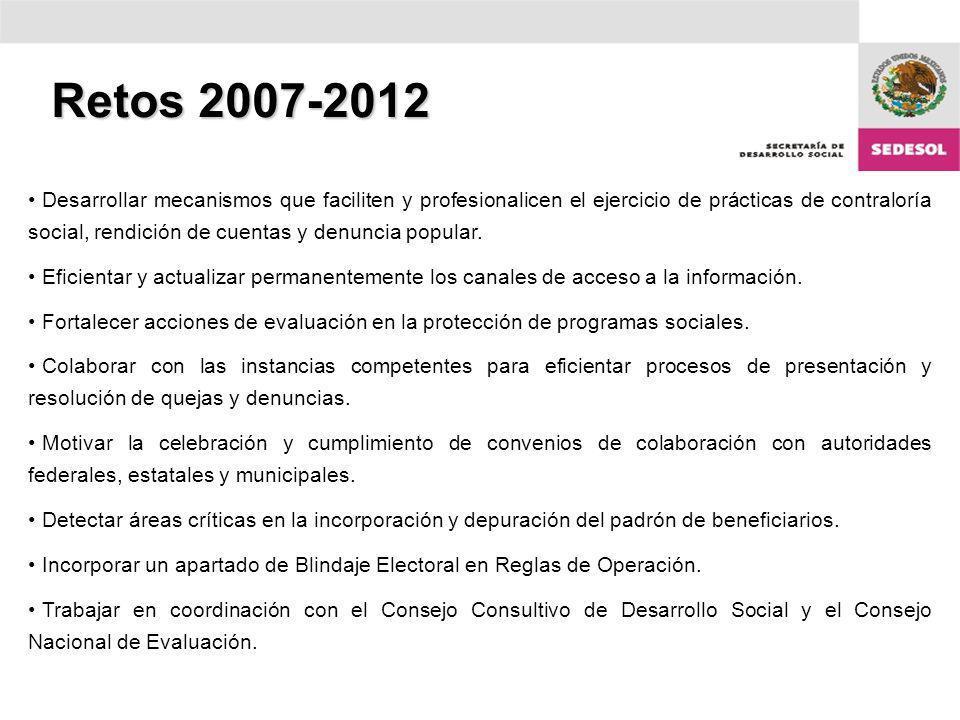 Retos 2007-2012